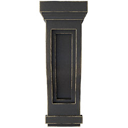 Traditional Recessed Wood Vintage Decor Corbel
