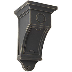 Arts and Crafts Wood Vintage Decor Corbel