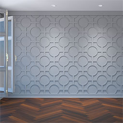 Chesterfield Decorative Fretwork Wall Panels in Architectural Grade PVC