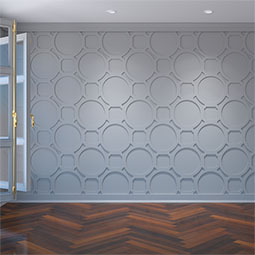Hemingway Decorative Fretwork Wall Panels in Architectural Grade PVC