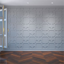 Lancaster Decorative Fretwork Wall Panels in Architectural Grade PVC
