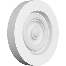 Standard Grayson Bullseye Rosette with Square Edge