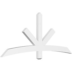 Alberta Architectural Grade PVC Gable Bracket