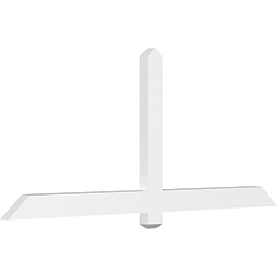 Eugene Architectural Grade PVC Gable Bracket