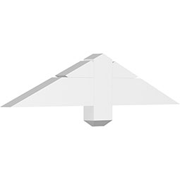 Kennewick Architectural Grade PVC Gable Bracket