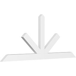 Saratoga Architectural Grade PVC Gable Bracket