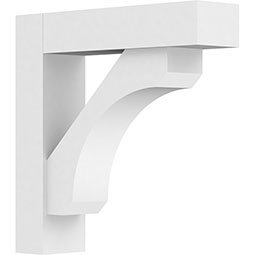 Standard Legacy Architectural Grade PVC Bracket With Block Ends