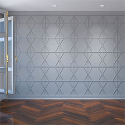 Fraser Decorative Fretwork Wall Panels in Architectural Grade PVC