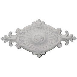 CM23RO1_P Oval Ceiling Medallions