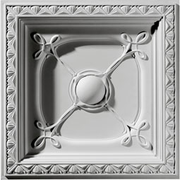 CT24X24CO Square Ceiling Medallions