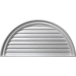 GVHR36D Half Round Gable Vents