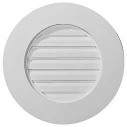GVRO27F Round Gable Vents