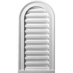 GVCA12X24F Cathedral Top Gable Vents