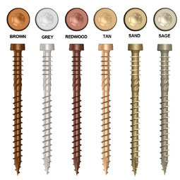 772691-66158-6 Kameleon Composite Screws