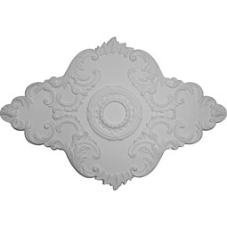 CM67PE_P Oval Ceiling Medallions