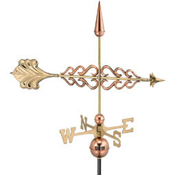 GD954P Copper Weathervanes