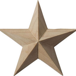 ROS02X02GLAL Star Rosettes