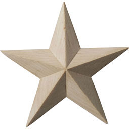 ROS03X03GLAL Star Rosettes
