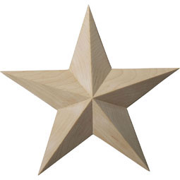 ROS06X06GLAL Star Rosettes