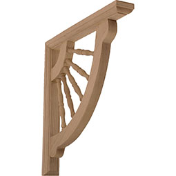 Crendon Wagon Wheel Wood Bracket