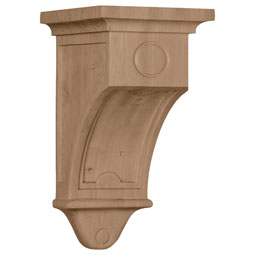 Arts and Crafts_01 Wood Corbel