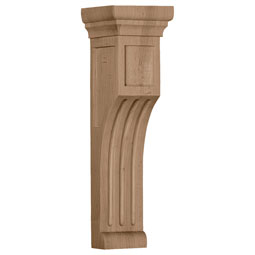 Recessed Groove Wood Corbel