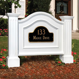 MP5820 Address Posts & Signs