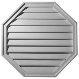 Octagon Gable Vent Louver