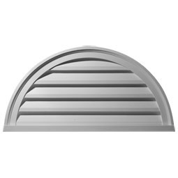 GVHR40D Half Round Gable Vents