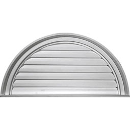 GVHR60F Half Round Gable Vents