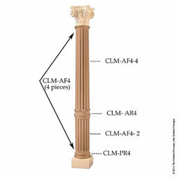 CLM-AR4 Column Shafts