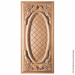 PNL-FM3 Acanthus Wood Panels