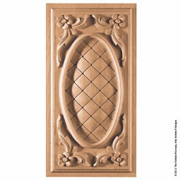 PNL-FN2 Floral Wood Panels