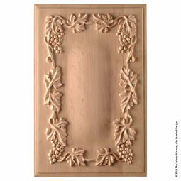 PNL-YW3 Acanthus Wood Panels