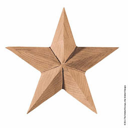 ROS-ST0 Wood Rosettes