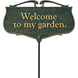 Garden Signs Garden Poem Signs Shop DIY