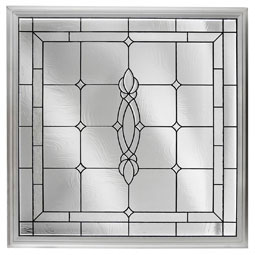 DF2626CRFTBK Decorative Glass Windows