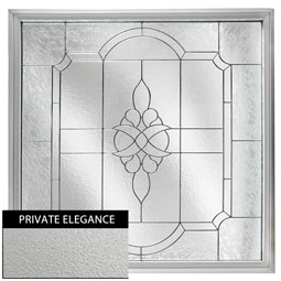 DF2626VCPEBK Decorative Glass Windows