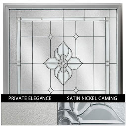 DF2626VCPENK Decorative Glass Windows