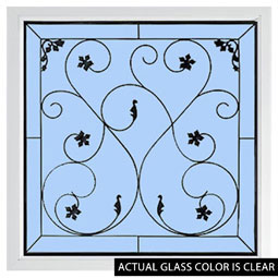 DF2626WRIN Decorative Glass Windows