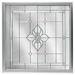 DF4848SPFLBK Decorative Glass Windows