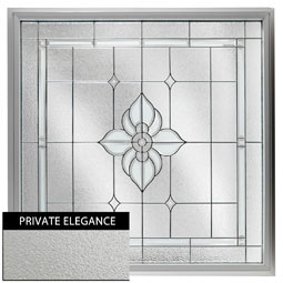 DF4848SPFLPEBK Decorative Glass Windows