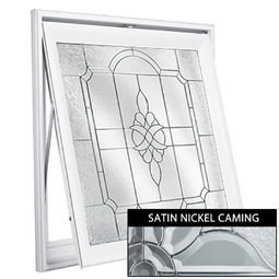 DA2929VCPESK Decorative Glass Windows