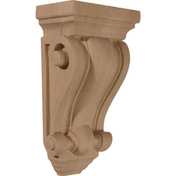 Cole Pilaster Wood Corbel