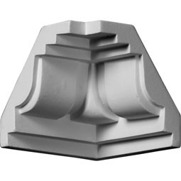 MIC02X02SQ Crown Moulding Blocks & Corners