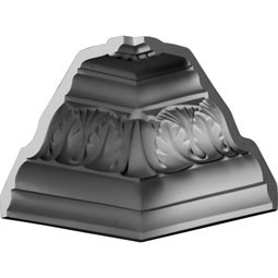 MIC05X06TI Ornate Crown Moulding