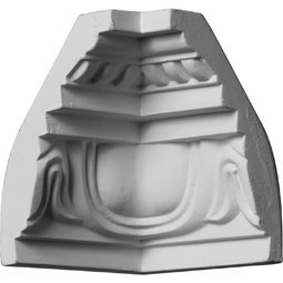 MIC03X04ED Ornate Crown Moulding