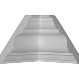 MIC03X03DU Crown, Cove & Cornice Moulding