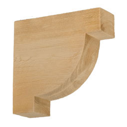 BKT12X12X4-7S Faux Timber Brackets & Corbels