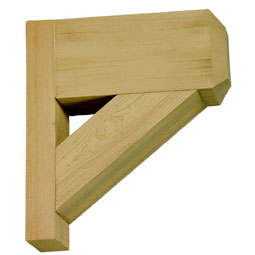 BKT14X16X3.5S Faux Timber Brackets & Corbels